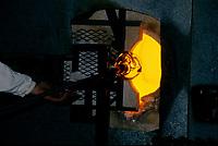 1998 File Photo - Montreal (qc) CANADA -  artisanal blown glass