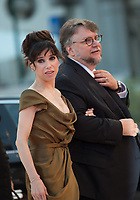 Sally Hawkins, Guillermo del Toro at the Shape Of Water premiere, 74th Venice Film Festival in Italy on 31 August 2017.<br /> <br /> Photo: Kristina Afanasyeva/Featureflash/SilverHub<br /> 0208 004 5359<br /> sales@silverhubmedia.com