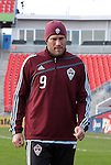 20 November 2010: Conor Casey. Colorado Rapids held a practice at BMO Field in Toronto, Ontario, Canada as part of their preparations for MLS Cup 2010, Major League Soccer's championship game.