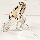 Corinne Boyles (BC - 29) - The Boston College Eagles defeated the visiting Harvard University Crimson 3-1 in their NCAA quarterfinal matchup on Saturday, March 16, 2013, at Kelley Rink in Conte Forum in Chestnut Hill, Massachusetts.