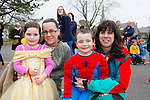 Enjoying the Meadowlands Tralee & Tralee Chamber Alliance Easter Kids Fancy Dress Fun Run at Tralee Town Park on Saturday were Jennifer O'Carroll, Hannah Reidy, Trese O'Carroll and Niall O'Carroll