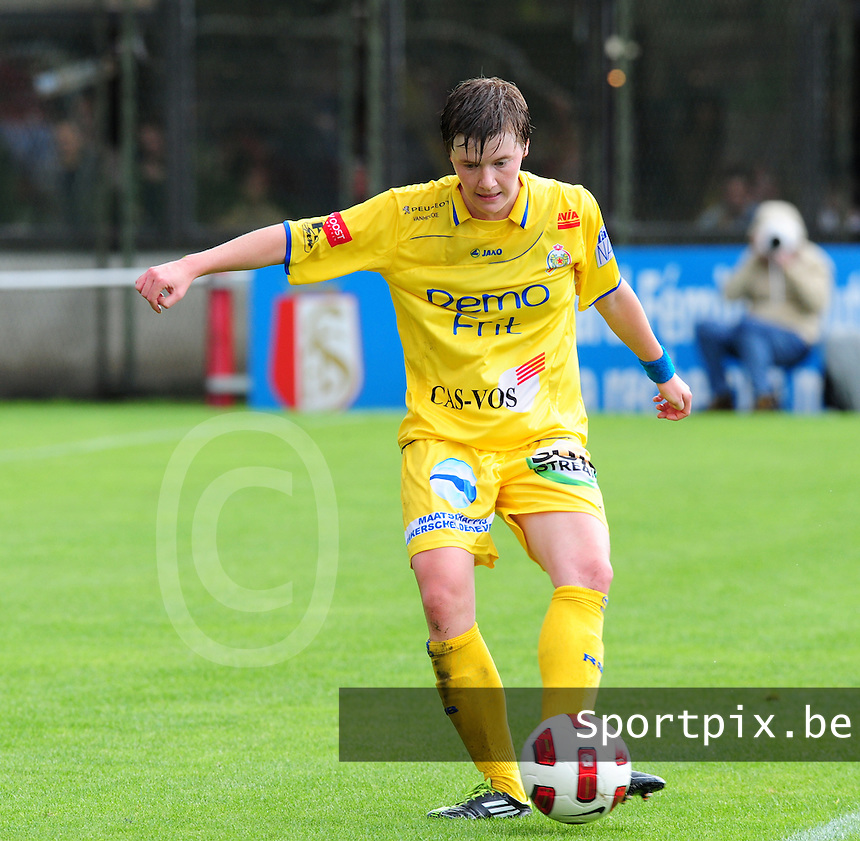 Supercup seizoen 2011 - 2012 ; Kampioen Standard Femina tegen Bekerwinnaar Waasland Beveren Sinaai Girls : Tina Vanderauwera.foto DAVID CATRY / Vrouwenteam.be