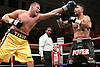 Tyson Fury (gold shorts) defeats Rich Power in a Heavyweight boxing contest at York Hall, Bethnal Green, promoted by Hennessy Sports / Shobox: The Next Generation - 10/09/10