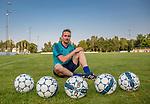 2017-08-29 / Voetbal / seizoen 2017 -2018 / Blauberg Sport / Davy Van Gestel /  ,Foto: Mpics.be