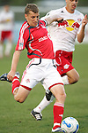 28 March 2007: Toronto's Ronnie O'Brien. Toronto FC defeated the New York Red Bulls 2-1 at Blackbaud Stadium in Cary, North Carolina in the 2007 Carolina Challenge Cup.