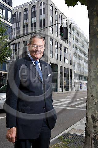 BRUSSELS - BELGIUM - 20 SEPTEMBER 2011 -- Jürgen R. Thumann, President of Businesseurope. --  PHOTO: Juha ROININEN /  EUP-IMAGES