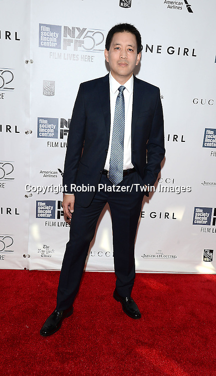 Scott Takeda attends the &quot;Gone Girl&quot; premiere at the opening night of The New York Film Festival  on September 26, 2014 at Alice Tully Hall in New York City. <br /> <br /> photo by Robin Platzer/Twin Images<br />  <br /> phone number 212-935-0770