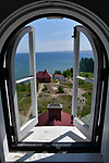 View from the Au Sable Light Station in the Pictured Rocks National Lakeshore.