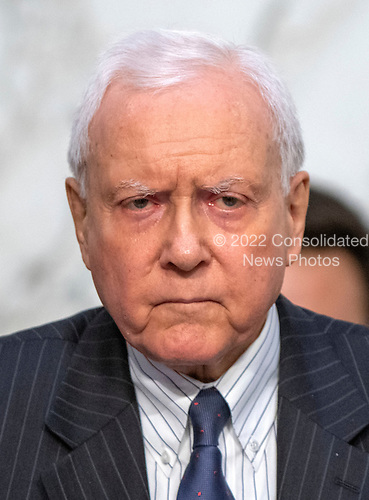 United States Senator Orrin Hatch (Republican of Utah) questions Judge Brett Kavanaugh as he testifies before the United States Senate Judiciary Committee on his nomination as Associate Justice of the US Supreme Court to replace the retiring Justice Anthony Kennedy on Capitol Hill in Washington, DC on Thursday, September 6, 2018.<br /> Credit: Ron Sachs / CNP<br /> (RESTRICTION: NO New York or New Jersey Newspapers or newspapers within a 75 mile radius of New York City)