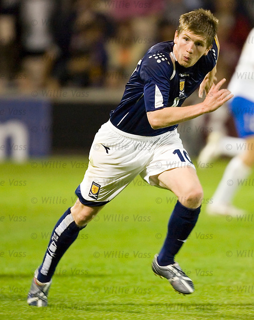 Mark Wilson, Scotland u21.stock season 2005-2006.pic willie vass