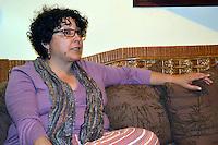Fatima Portorreal, Antropologa, Feminista, Ambientalista dominicana.Foto:Cesar de la Cruz.Fecha:.