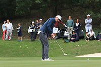 Paul Peterson (USA) on the 15th green during Round 3 of the UBS Hong Kong Open, at Hong Kong golf club, Fanling, Hong Kong. 25/11/2017<br /> Picture: Golffile | Thos Caffrey<br /> <br /> <br /> All photo usage must carry mandatory copyright credit     (© Golffile | Thos Caffrey)