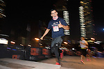Runners in action during the Bloomberg Square Mile Relay race across the Dubai International Financial Centre on 8 February 2017 in Dubai, United Arab Emirates. Photo by Victor Fraile / Power Sport Images