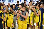 Schlussjubel der Oldenburger Spieler.<br /> Vorne:Rasid MAHALBASIC (OL).<br /> <br /> Basketball 1.Bundesliga,BBL, nph0001-Finalturnier 2020.<br /> Viertelfinale am 18.06.2020.<br /> <br /> BROSE BAMBERG-EWE BASKETS OLDENBURG 81-86.<br /> Audi Dome<br /> <br /> Foto:Frank Hoermann / SVEN SIMON / /Pool/nordphoto<br /> <br /> National and international News-Agencies OUT - Editorial Use ONLY