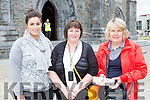 Patricia and Anne Doody and Catriona Humphries Killarney who visited the relic of St Anthony in St Mary's Cathedral on Friday