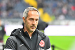06.10.2019, Commerzbankarena, Frankfurt, GER, 1. FBL, Eintracht Frankfurt vs. SV Werder Bremen, <br /> <br /> DFL REGULATIONS PROHIBIT ANY USE OF PHOTOGRAPHS AS IMAGE SEQUENCES AND/OR QUASI-VIDEO.<br /> <br /> im Bild: Adi Hütter / Huetter / Hutter (Trainer Eintracht Frankfurt)<br /> <br /> Foto © nordphoto / Fabisch