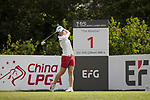 Golfer Ye-Nah Hwang of South Korea during the 2017 Hong Kong Ladies Open on June 9, 2017 in Hong Kong, China. Photo by Chris Wong / Power Sport Images