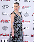 "Linda Cardellini attends The World Premiere of Marvel's ""Avengers"" Age of Ultron,"" held at The Dolby Theatre in Hollywood, California on April 13,2015                                                                               © 2014 Hollywood Press Agency"