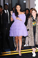 Rihanna arriving for the Fenty Beauty by Rihanna launch party at Harvey Nichols, London, UK. <br /> 19 September  2017<br /> Picture: Steve Vas/Featureflash/SilverHub 0208 004 5359 sales@silverhubmedia.com