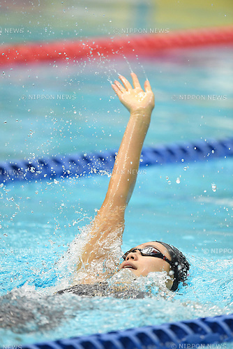 Airi Ike (JPN), <br /> JULY 18, 2016 - Swimming : <br /> 2016 Japan Para Championships Swimming <br /> Women's 100m Backstroke S10 Final<br /> at Yokohama International Swimming Center, Kanagawa, Japan. <br /> (Photo by AFLO SPORT)