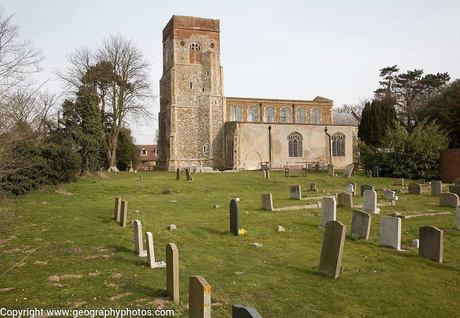 Church of St Mary, Erwarton, Suffolk