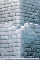 2018 Saint Paul Winter Carnival Ice Palace wall detail
