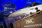 Presentacion Nueva coleccion de relojes IWC , en Ginebra