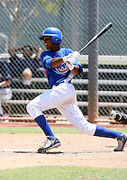 Starlin Castro / AZL Cubs playing against the AZL Brewers at Fitch Park, Mesa - 07/26/2008..Photo by:  Bill Mitchell/Four Seam Images