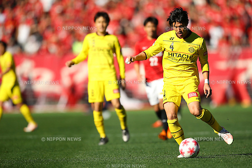 Daisuke Suzuki (Reysol), DECEMBER 29, 2015 - Football / Soccer : The 95th Emperor's Cup All Japan Football Championship Semi-final match between Urawa Red Diamonds 1-0 Kashiwa Reysol at Ajinomoto Stadium, Tokyo, Japan. <br />  (Photo by AFLO)