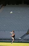 Byron kelleher. All Blacks kickers session, Eden Park, Auckland. July 18 2007.