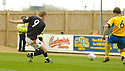 02/04/2005         Copyright Pic : James Stewart.File Name : jspa02_falkirk_v_st_johnstone.DANIEL MCBREEN SCORES FALKIRK'S FIRST.Payments to :.James Stewart Photo Agency 19 Carronlea Drive, Falkirk. FK2 8DN      Vat Reg No. 607 6932 25.Office     : +44 (0)1324 570906     .Mobile   : +44 (0)7721 416997.Fax         : +44 (0)1324 570906.E-mail  :  jim@jspa.co.uk.If you require further information then contact Jim Stewart on any of the numbers above.........A