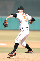 Kam Mickolio - Scottsdale Scorpions - 2010 Arizona Fall League.Photo by:  Bill Mitchell/Four Seam Images..