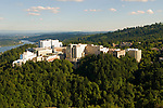 Aerial View of Oregon Health and Sciences University (OHSU), Portland, Oregon