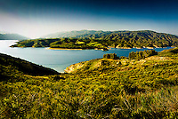 Castaic Lake State Recreation Area In Los Angeles County California