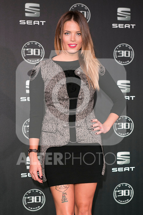 Alison Eckmann attends the 30th Anniversary Party Of Seat IBIZA Car at COAM in Madrid, Spain. November 6, 2014. (ALTERPHOTOS/Carlos Dafonte)