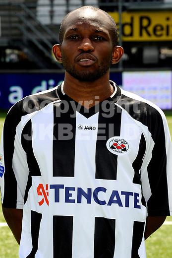 ALMELO - Persdag Heracles Almelo Eredivisie , seizoen 2011-2012, 08-07-2011 Kwame Quansah.