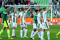 GRONINGEN - Voetbal, FC Groningen - FC Twente,  Eredivisie , Noordlease stadion, seizoen 2017-2018, 24-09-2017,   Groningen bedankt de fans