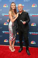 12 March 2018 - Pasadena, California - Heidi Klum, Howie Mandel. America&rsquo;s Got Talent Red Carpet Kickoff held at The Pasadena Civic Auditorium. <br /> CAP/ADM/FS<br /> &copy;FS/ADM/Capital Pictures