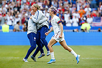 Celebration Megan Rapinoe (USA) victorieuse<br /> Lyon 07/07/2019<br /> Football Womens World Cup Final <br /> United States - Netherlands <br /> Photo  Gwendoline LeGoff / Panoramic/Insidefoto <br /> ITALY ONLY