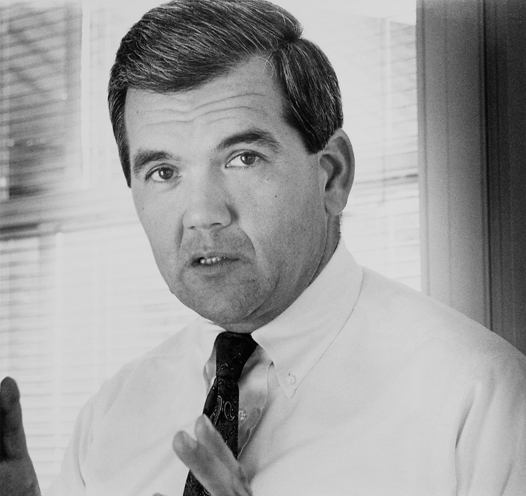 Portrait of Rep. Tom Ridge, R-Pa., in 1985. (Photo by Laura Patterson/CQ Roll Call)
