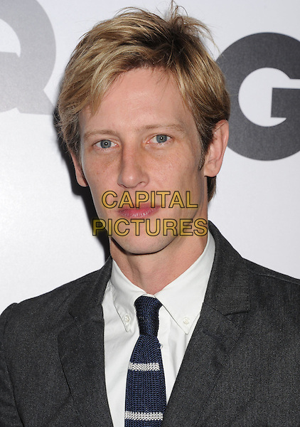 Gabriel Mann.Arriving at the GQ Men Of The Year Party at Chateau Marmont Hotel in Los Angeles, California, USA..November 13th, 2012.headshot portrait blue tie white shirt grey gray.CAP/ROT/TM.©Tony Michaels/Roth Stock/Capital Pictures