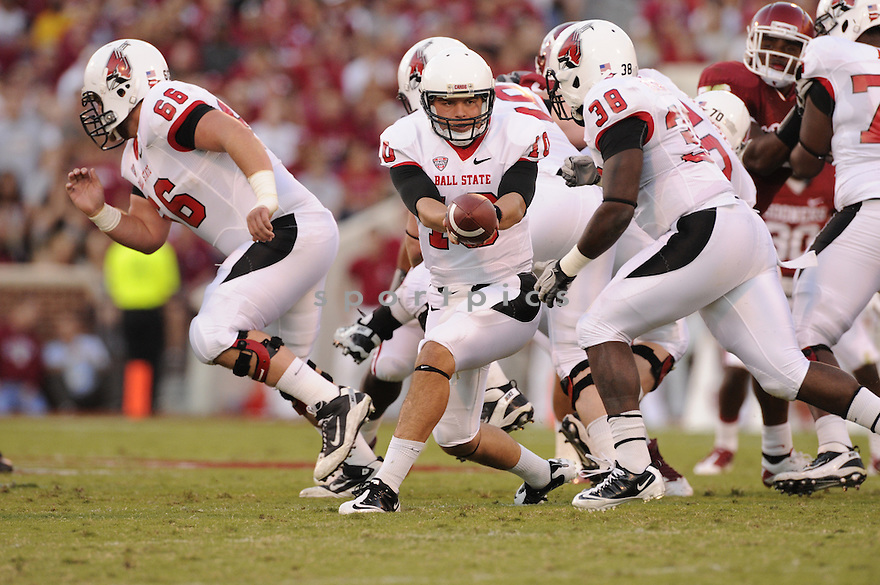 Keith Wenning(10) / Ball State Cardinals