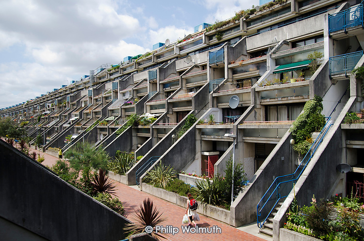 Camden Council housing: Alexandra and Ainsworth Estate, West Hampstead