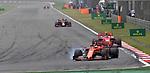 14.04.2019, Shanghai Audi International Circuit, Shanghai, 2019 FORMULA 1 HEINEKEN CHINESE GRAND PRIX<br /> im Bild<br />Sebastian Vettel (GER#5), Scuderia Ferrari, Charles Leclerc (MCO#16), Scuderia Ferrari<br /> <br /><br /> <br /> Foto &copy; nordphoto / Bratic