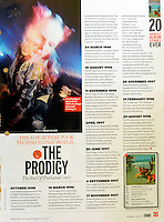 Q Magazine<br /> Prodigy by RSG<br /> 41167<br /> tearsheet