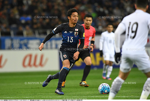 Hiroshi Kiyotake (JPN),<br /> MARCH 28, 2017 - Football / Soccer : FIFA World Cup Russia 2018 Asian Qualifier Final Round Group B match between Japan 4-0 Thailand at Saitama Stadium in Saitama, Japan.<br /> (Photo by Takamoto Tokuhara/AFLO)