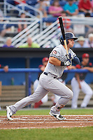 Staten Island Yankees designated hitter Nathan Mikolas (39) at bat during a game against the Batavia Muckdogs on August 27, 2016 at Dwyer Stadium in Batavia, New York.  Staten Island defeated Batavia 13-10 in eleven innings.  (Mike Janes/Four Seam Images)