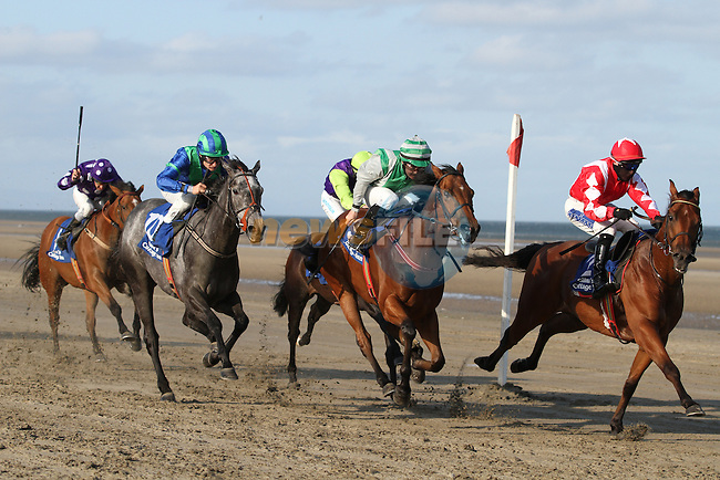 at the Laytown Races....Photo NEWSFILE/Jenny Matthews.