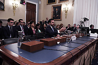 Washington, DC - May 2, 2019: Puerto Rico Governor Ricardo Rosello testifies during a House Congressional hearing about the Puerto Rico Oversight, Management and Economic Stability Act May 2, 2019.  (Photo by Lenin Nolly/Media Images International)