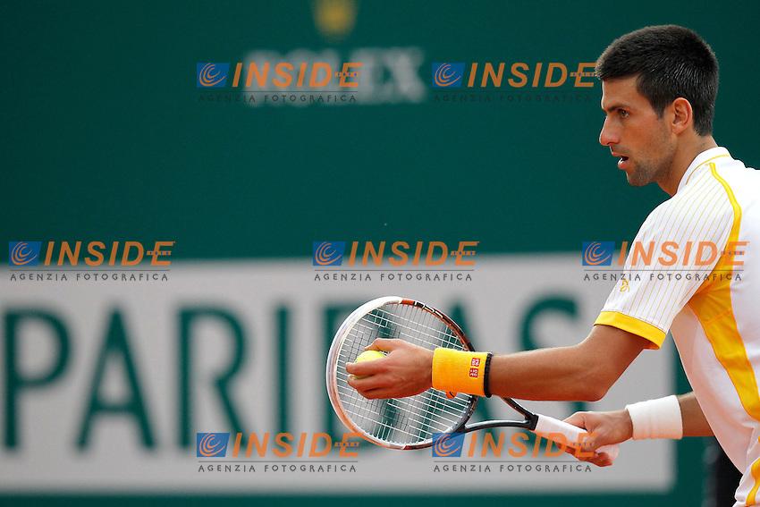 Novak Djokovic, Monte - Carlo, Monaco 19/4/2013 .Monte - Carlo Rolex Masters, Tennis, Atp World Tour.Tennis..Foto Marco Bertorello Insidefoto